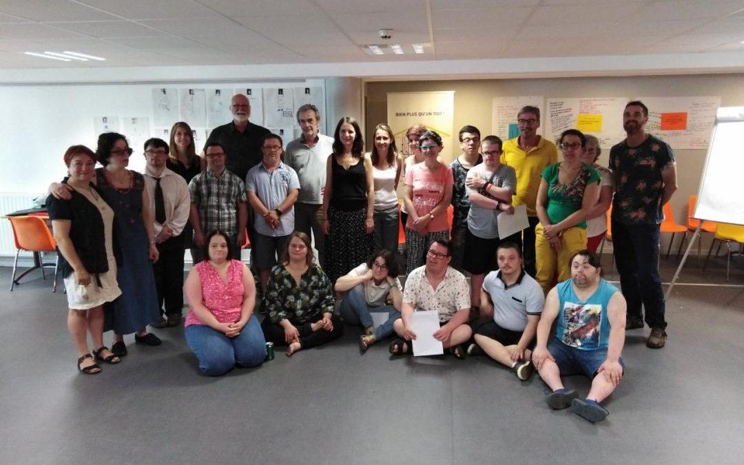 «Ma parole doit compter !» : les membres du projet se retrouvent ce weekend pour finaliser la boite à outils !