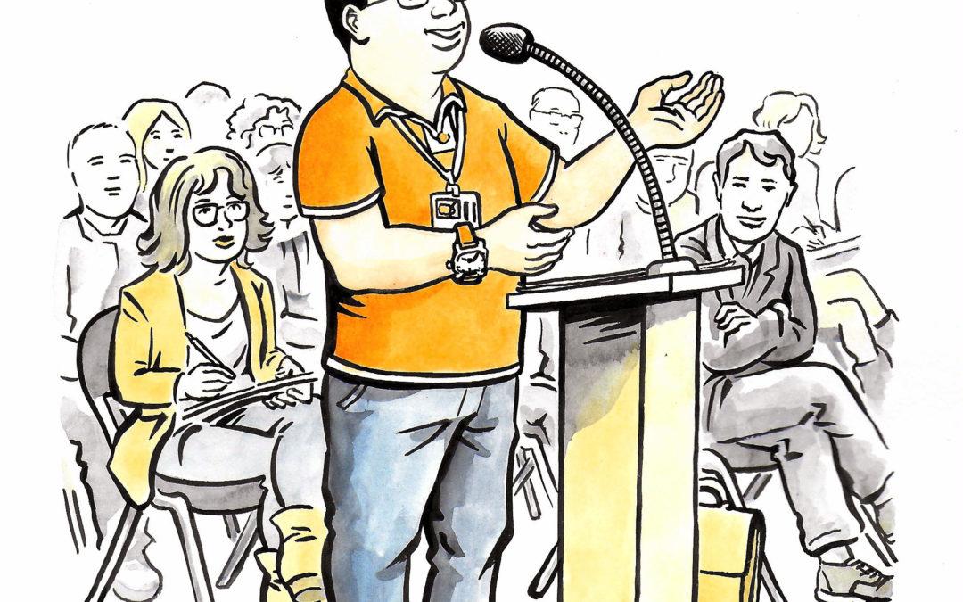 Ma parole doit compter ! Nouvelle session de présentation du projet ce jeudi 29 octobre à 17h