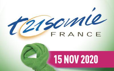 15 novembre 2020 : Journée Nationale de la trisomie 21