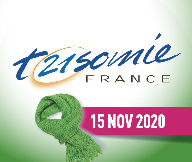 15 novembre 2020 : Journée Nationale de la trisomie 21